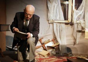 Sztuka, przedstawienie, bilety, wydarzenie, czytanie baczyńskiego, poeta, aktor, teatr Opole