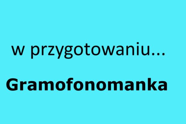 Gramofonomanka
